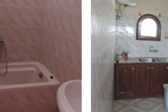 Bathroom - kitchen apartment