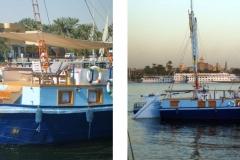 Sandal boat