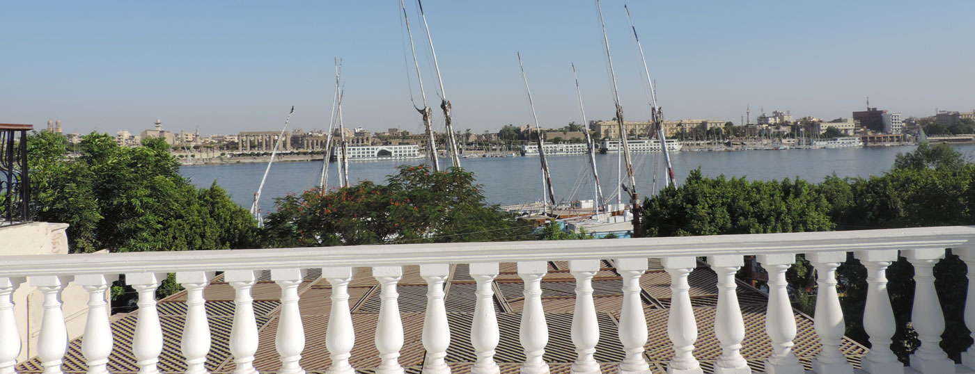 Apartment in front of <strong>the Temple of Luxor</strong>